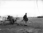 Fr. Anthony Cotta, MM, with Bicycle