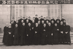 Group Photo: Bishop Gong Pinmei and Jin Luxian