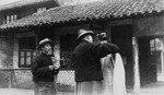 Lu Bohong Places a Holy Medal Around the Neck of a Criminal
