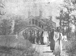 Procession at Holy Martyrs Church