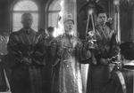 Bishop Vasily Yao Fu'an During Liturgy