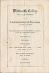 Commencement Program 1917