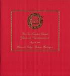 Graduate Commencement Program 2001