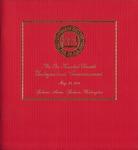 Commencement Program 2001