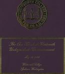Commencement Program 2003