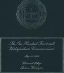 Commencement Program 2004