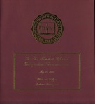 Commencement Program 2005 by Whitworth University