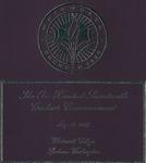 Graduate Commencement Program 2007