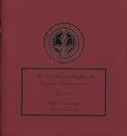 Graduate Commencement Program 2008 by Whitworth University