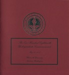 Commencement Program 2008 by Whitworth University