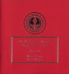 Graduate Commencement Program 2009 by Whitworth University