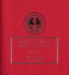 Commencement Program 2009 by Whitworth University
