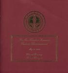 Graduate Commencement Program 2010 by Whitworth University