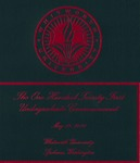 Commencement Program 2011