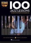 100 Jazz Lessons: Keyboard Lesson Goldmine Series by Brent Edstrom