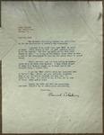 Letter to Sonora Dodd from Conrad Bluhm, February 15, 1917