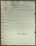 Letter to Sonora Dodd from Albert Romeike, July 12, 1910