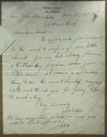 Letter to Sonora Dodd from Jas. C. Orr, June 11, 1913