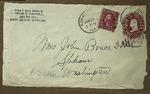 Envelope addressed to Sonora Dodd, June 25, 1915