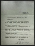 Letter to Sonora Dodd from S. Gertsmay, December 1, 1933