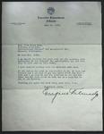Letter to Sonora Dodd from Eugene Talmadge, June 11, 1935