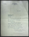 Letter to Sonora Dodd from State of Montana Office of the Governor, June 7, 1935