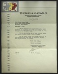 Letter to Sonora Dodd from S. J. Gassman, June 21, 1939