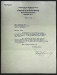 Letter to Sonora Dodd from Charles H. Leavy, June 9, 1942