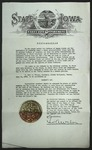 Official Proclamation by Geo. A. Wilson, June 15, 1942