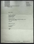 Letter to John L. Matthiesen from C. E. Nelson, May 15, 1950, with enclosed letter