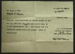 Telegram to James A. Ford from Sonora Dodd, June 25, 1951