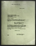 Letter to M. D. Brouhard from M. H. Hammer, April 12, 1951, with enclosed letter