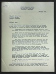 Letter to Sonora Dodd from Kenton D. McFarland, April 18, 1951