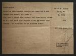 Telegram to Alvin Austin from Sonora Dodd, May 9, 1955