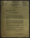 Letter to Emory S. Land from Mrs. Bert Cummings, November 9, 1943