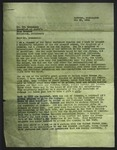 Letter to Tom Brennaman from Samuel Glasgow, May 29, 1944
