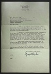 Letter to Sonora Dodd from George S. Clarke, June 12, 1945