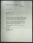 Letter to Sprague O. Smith from Don DeManche, July 10, 1961