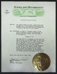 Official Proclamation by Neal R. Fosseen, June 2, 1961