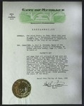 Official Proclamation by Neal R. Fosseen, June 7, 1962