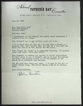 Letter to Sonora Dodd from Alvin Austin, June 14, 1962