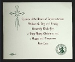 Holiday Card from William S. Day and Family
