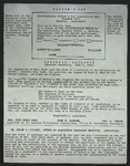 Facsmile of Father's Day Association Membership Card, c. 1960