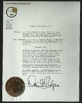 Official Proclamation by David H. Rodgers, June 15, 1970 by David H. Rodgers