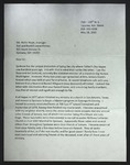 Letter to Rollin Hoyle from Art Sortland, May 18, 2010, with attached document by Egil Arthur Sortland