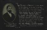 Postcard honoring James Nettle Glover, c. 1916