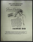 Douglas MacArthur Father's Day Message, c. 1943