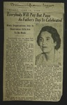 Newspaper Clipping from the Birmingham News, June 10, 1938
