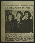 Newspaper Clipping from the Spokane Chronicle, November 16, 1955