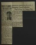 Newspaper Clipping from Spokane Daily Chronicle, June 14, 1944